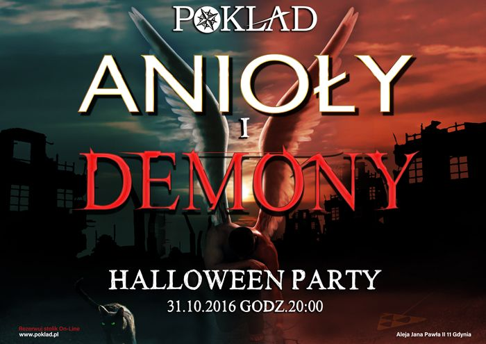 31.10 Halloween Party - Anioły i demony